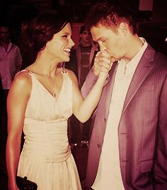 Sophia Bush and Chad Michael Murray, LOVED them together :D