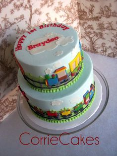 Train Cake - top layer only