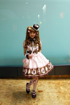 Angelic Pretty Melty chocolate OP by herajika, via Flickr