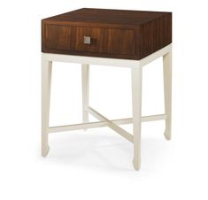 Century Furniture - Infinite Possibilities. Unlimited Attention.® Monochromatic Living Room, Chair Side Table, Side Tables, Bedroom Loft, Nightstand, Stool, Occasional Tables, Woodworking Ideas, House