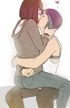 Pricefield (Life is Strange) by Spoonycorn (edited by pricefieldfever) My OTP Life Is Strange Fanart, Life Is Strange 3, Lgbt Love, Lesbian Love, Lesbian Couples, Anime Couples, Cute Couples, I Never Forget You, Couple Manga