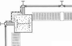 En Detalle: Especial Mies,Detalle esquina Edificio Seagram (1958)