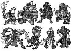 character heroic fantasy