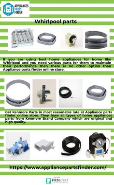 In every home there will be at least one product from LG brand. And if you are one of them and needed some parts for you home appliances from LG then approach at Appliance parts finder online store.visit here https://www.appliancepartsfinder.com/ #HomeAppliancesBranding #HomeAppliancesStore