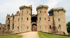 Raglan Castle, Monmouthshire  19 Hauntingly Beautiful British Places