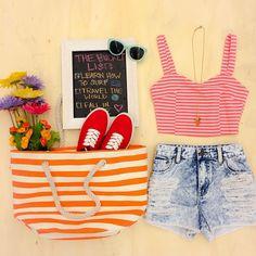 Spring break outfit inspo! #OOTD #MustHave #Denim