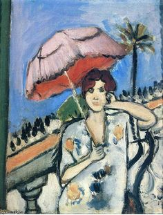 Henri-Matisse-Woman-with-Umbrella.JPG 530×700 pixels