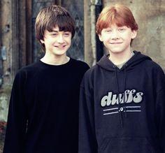 baby Dan and Rupert <3