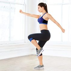 Try these 6 fun moves from @selfmagazine to get a full glute workout at home!