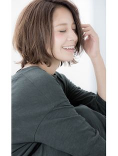 【Euphoria 宮本】抜け感たっぷりボブ☆