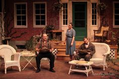 """""""All My Sons"""" - Set Crew and Scenic Painter by Loranemm, via Behance"""
