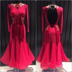 Lovely ballroom dress created by DLK UNITED DESIGN #ballroom #ballroomdress #ballroomdesign #dlk_united_design