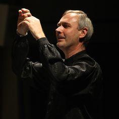 Dario Tabbia, direttore del coro dell'Accademia Corale Stefano Tempia