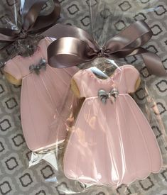 """138 Likes, 7 Comments - Buttercup Cookie (@buttercupcookie) on Instagram: """"Baby Shower cookie favors. #babyshowercookies #baby #dresscookies #babydoll #showercookies"""""""