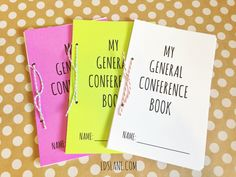 Or so she says…:20 General Conference Activities for Kids (she: Mariah) - Or so she says...