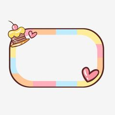 Watermark Ideas, Baby Icon, First Day Of School Activities, Cute Borders, Cute Kawaii Animals, Poster Background Design, Printable Scrapbook Paper, Cute Frames, Tumblr Backgrounds