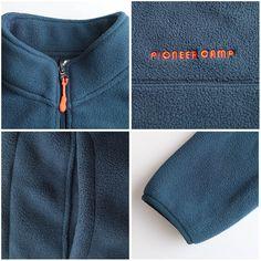 Pioneer Camp warm fleece hoodies men brand-clothing autumn winter zipper  sweatshirts male quality men b1ea30a486d