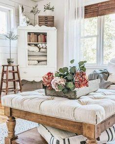Cottage Living, Home Living Room, Living Room Decor, Living Spaces, Bedroom Decor, Nursery Decor, French Country Decorating, Home Decor Inspiration, Decor Ideas