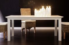 Whitehaven Painted Dining Table 180 cm