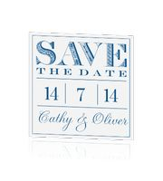 save-the-date-kaart-koningsblauw-hip-trendy-stijlvol-chique
