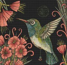 Jewel Hummingbird Cross Stitch Kit GR/AIJH