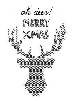 KERSTKAART OH DEER MERRY XMAS Het ontvangen en versturen van een Kerstkaart wordt daarom steeds meer een bijzondere aangelegenheid. Zeker met onze KERSTKAART OH DEER MERRY XMAS !