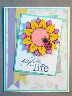 AJ's Creative Energy: Life's Delights Card for Inky Paws Challenge at Newton's Nook Designs - Digital stamp by Newton's Nook Designs