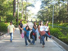 with friends in baguio City, Philippines
