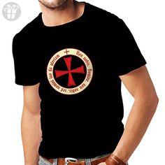 """T shirts for men """"The templar code christian knight order"""" A Great Christmas Gift, Birthday Gift, Valentine Gift For Husbands, Boyfriends, Dads or Friends (Medium Black Multi Color) - Birthday shirts (*Amazon Partner-Link)"""