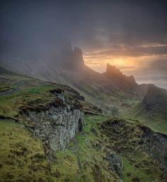 Quiraing at dawn - Isle of Skye