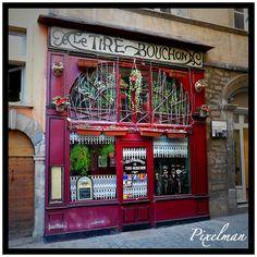 """restaurant """"BOUCHON de Lyon"""" quartier saint jean"""