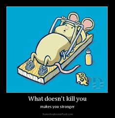 What doesn't kill you - makes you stronger