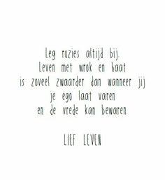 60 Beste Afbeeldingen Van Spreuken Lief Leven Dutch Quotes Lyrics