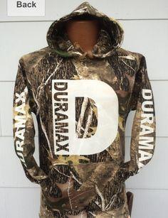 Camo duramax hoodie.