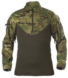 The low neckline is designed to improve comfort if the user wears a chest rig or similar equipment. Tactical Shirt, Tactical Clothing, Tactical Gear, Survival Clothing, Army Gears, Combat Shirt, Police Gear, Duty Gear, Apocalyptic Fashion
