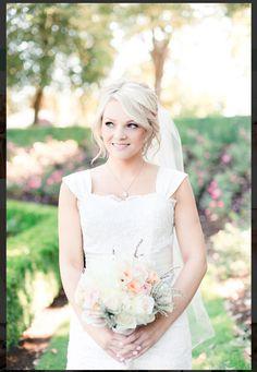 soft wedding hair