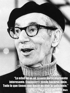 Frases de Groucho Marx que nunca pasarán de moda | Verne EL PAÍS Sign Quotes, Motivational Quotes, Funny Quotes, Frases Humor, Miguel Angel, Clint Eastwood, Kawaii Anime, Sentences, Wise Words