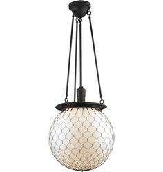 rejuvenation Hood Classic Globe Chandelier  $580 (clear glass option see other pin)) 13 finishes to select from.