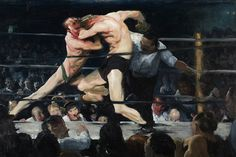 1909 Stag at Sharkey's - George Bellows — Wikipédia