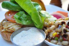 Crab Cake Sandwich - Cinnabar at Hyatt Regency Crystal City
