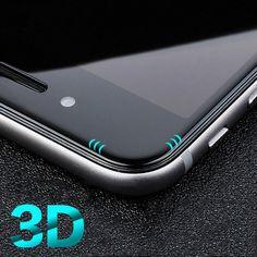 Per iphone 7 7 plus 6 s 6 più 6 s più 3d della copertura completa dello schermo protector reale vetro temperato film per iphone 7 7 plus 6 più 6 s plus