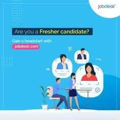 Are you a fresher candidate? Gain a headstart with jobdesk® - the global job platform. 👉 Sign up now (It's 💯% Free)     #jobdeskcom #jobdesk #qualified #Careeropportunity #recruitment #toprecruitier #candiate #vacancynews #globalrecruitingplatform #internationaljobplatform International Jobs, Career Opportunities, Find People, Head Start, Find A Job, Gain, Language, Platform, Fresh