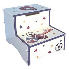 Have to have it. Teamson Kids Sports Step Stool with Storage $42.5