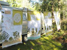 pesky squirrel tea towels... | Flickr - Photo Sharing!