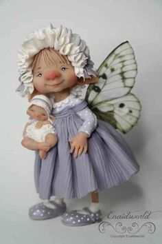 fairy puppets / fotogalerij | enaidsworld Elves And Fairies, Biscuit, Polymer Clay Dolls, Fairy Dolls, Fairy Land, Cold Porcelain, Ball Jointed Dolls, Puppets, Faeries
