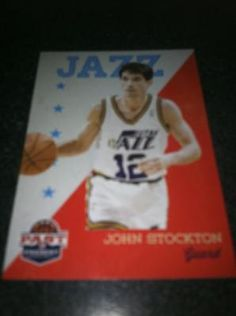 John Stockton Brand New * 2011-12 Past & Present * NBA Basketball Card Utah Jazz Free Ship $2.00