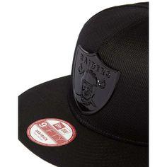 New Era 9FIFTY Diamond Oakland Raiders Metal Snapback Cap