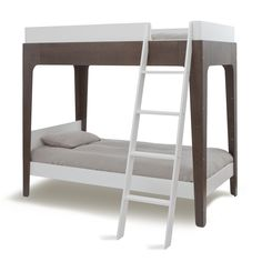 [Guestroom] Oeuf: Perch Bunk Bed - Walnut+White (1490.00)