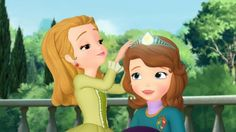 Sofia the First sings I can do anything on DisneyJunior.com!