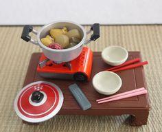 Miniature Shabu Shabu on Portable Gas Stove